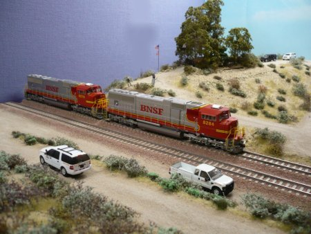 ho Scale Gravel Hill 582 in ho Scale