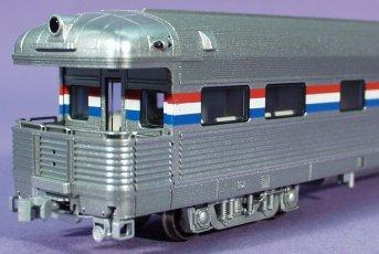 HO Scale: Kato, Business/Observation Amtrak