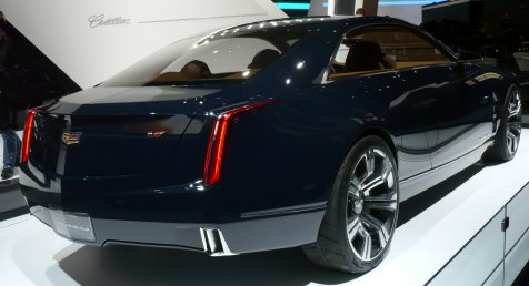 Cadillacs at Geneva Autosalon 2014