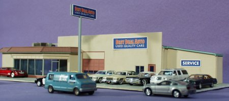 Kieffe And Sons Ford >> HO Scale: Buildings made by Pelle Soeeborg