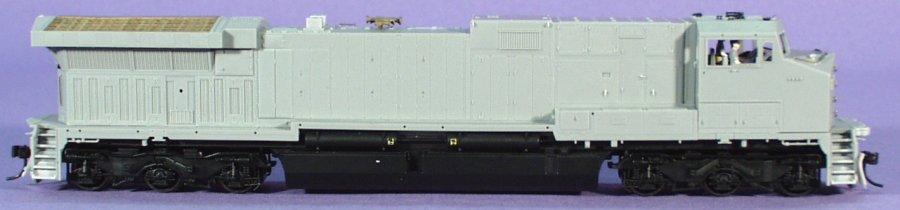 HO Scale: BLI, GE AC6000CW, UP, SP, undec, BRO-76