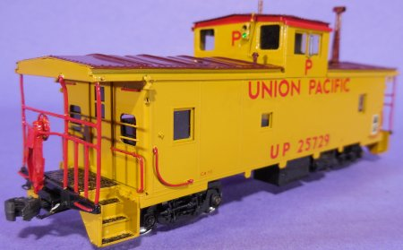 HO Scale: OMI # 1111, UP, CA-10 Caboose, P-457
