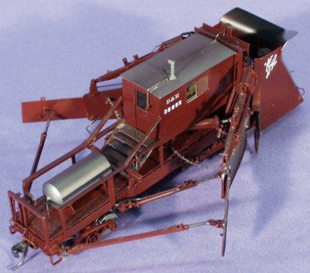 HO Scale: OMI 3144 D&H Jordan Spreader BM-28