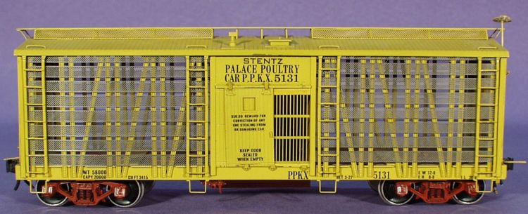 Car To Go >> O Scale: Overland Palace Poultry Car PDI-17