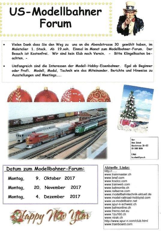 American Railroadfans in Switzerland